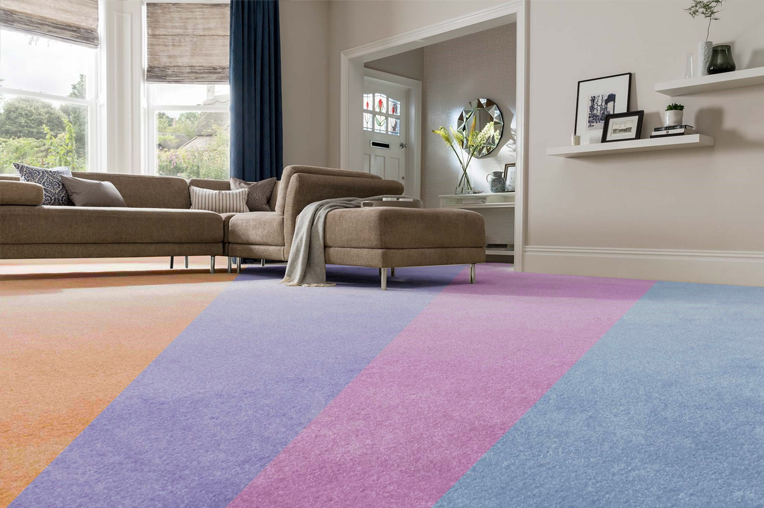 Recolour your carpet