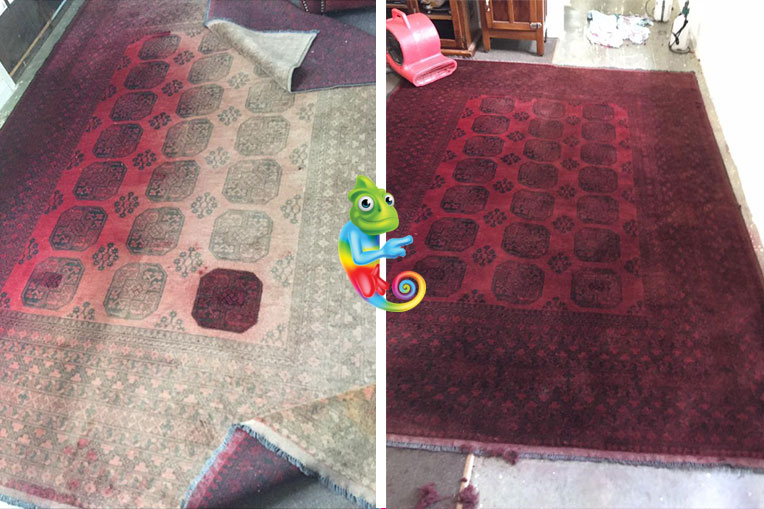 Rug Dyeing & Restoration